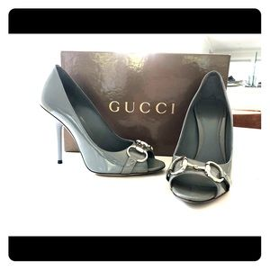 Gucci Vitello Vernice Soft Ash